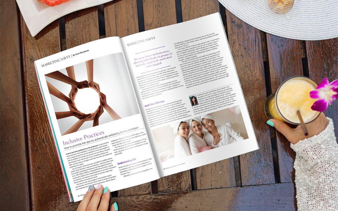 DaySpa Magazine Article: Inclusive Practices